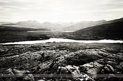 Leenane, County Galway, Ireland (Seven Seconds Before Sunrise) Tags: travel ireland bw galway water landscape europe delphi eire connemara limestone leenane leenaun killaryharbour killaryharbor