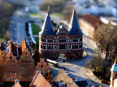 Lbeck, Holstentor Miniature (photoArt) Tags: wow germany miniature fake luebeck lbeck holstentor tiltshift interestingness472 i500