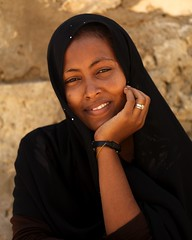Veiled woman smiling, Massawa, Eritrea (Eric Lafforgue) Tags: africa woman girl female femme fille eritrea eastafrica aoi eritreo erytrea lafforgue erythre erythree eritreia  ericlafforgue lafforguemaccom ertra    eritre eritreja eritria wwwericlafforguecom  rythre africaorientaleitaliana     eritre eritrja  eritreya  erythraa erytreja
