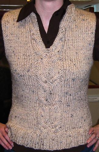 Erin B's knited vest