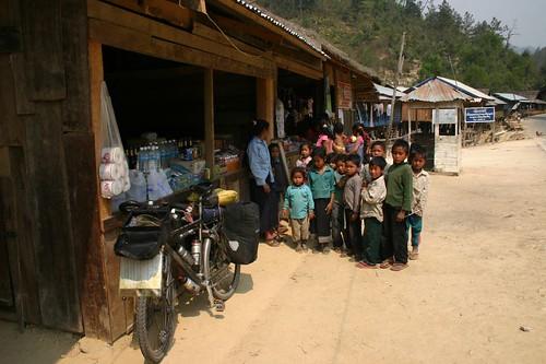 Village kids...