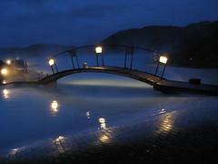 Blue Lagoon after dark - by johnnyzero