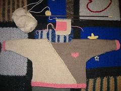 Mason Dixon Knitting WIP