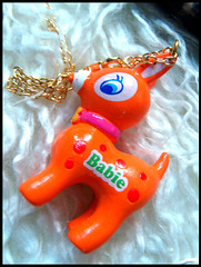 Petit Babie Necklace (Hailey Kitten) Tags: cute necklace deer jewellery fawn kawaii keycharm petitbabie kawaiideer deerjewelry