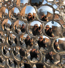 Mirror Egg Reflections by LollyKnit, on Flickr