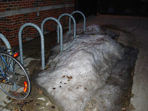 Bike Rack - Snowed In