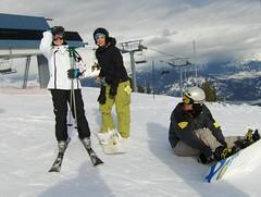 At The Top Of Jersey Cream (Joe Shlabotnik) Tags: whistler skiing skilift le kelly skitrip blackcomb 2007 faved chelsy jerseycream march2007