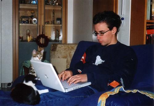 Kätzchen, iBook and me
