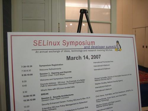 SELinux Symposium 2007