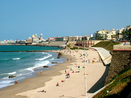 Cadiz, beach por Hallom.