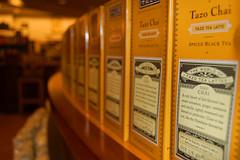 Tazo Chai (Ari Hahn) Tags: food yellow dof tea