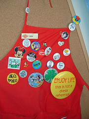 Who Song and Larry apron
