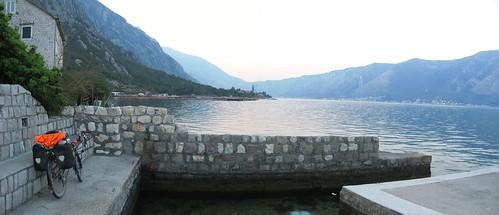 Sleeping spot in Kotor Bay, Montenegro