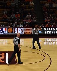 SEAN HULL (SneakinDeacon) Tags: vt vatech hokies virginiatech cassellcoliseum referee basketball hawks marylandeasternshore