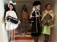 Poppy Parker Cafe Display (Nina-chan) Tags: chocolate cake cafe miniature rement display integritytoys fashionroyalty 2015 outofthisworld moodchangers doll poppyparker