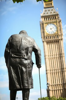 Mr Churchill & Big Ben