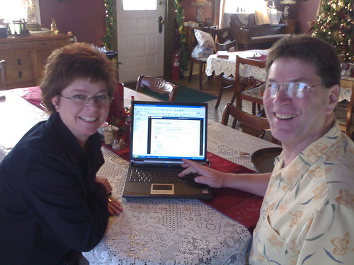Dave and Bernadine with their New Blog von Eric Olson