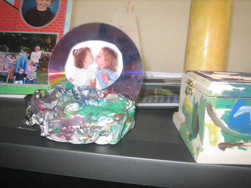 Who wouldn't want a hunk of plaster and cd from their kids?