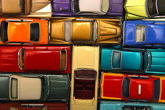 Gridlock (Curtis Gregory Perry) Tags: auto color cars ford chevrolet car toy toys buick automobile colorful traffic mobil automotive lincoln dodge motor amc jam gridlock oldsmobile automvil xe automobil     samochd  kotse  otomobil johnnylightning   hi   bifrei  automobili   gluaisten