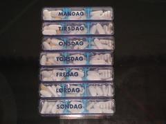 En uges forbrug - <suk> (Very Distorted) Tags: week medicine pills uge disease medicin piller sygdom