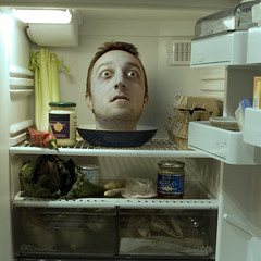 Cold meat (Mr. Flibble) Tags: cold fridge head refridgerator decapitated challengeyouwinner howonearthdidwenotrealisewedidntneedtobuyeggs 241543903 idrinkleadpaint