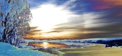 Solar Effect (Color version) (Krogen) Tags: norway photoshop norge olympus c7070 elements krogen
