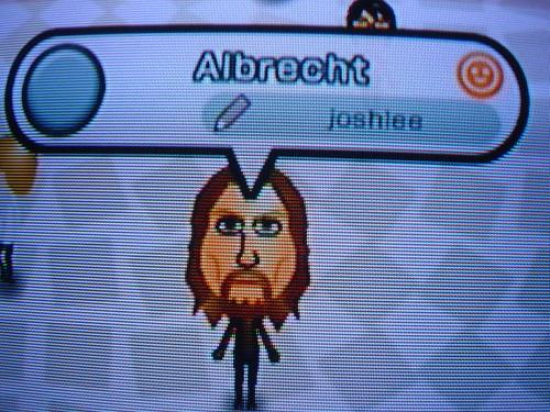 Mii: Albrecht
