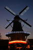 Christmas - decorated windmill