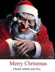 santa is evil