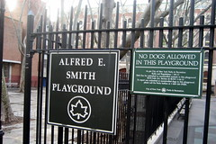 NYC - Two Bridges: Alfred E. Smith Park by wallyg, on Flickr