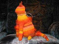 Orange Kitty WIP