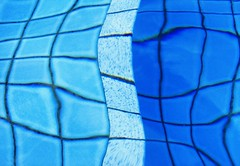 Tiled Ripple (Lawrie M) Tags: blue water pool delete10 swimming delete9 delete5 delete2 delete6 delete7 ripple save3 delete8 save7 delete delete4 save save2 save4 tiles save5 save6 distort