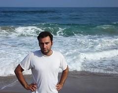 Babak on the beach