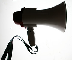 This is not a social media megaphone by altemark, on Flickr