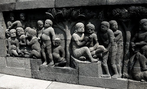 Borobudor: Bas Reliefs