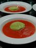 asparagus and gazpacho