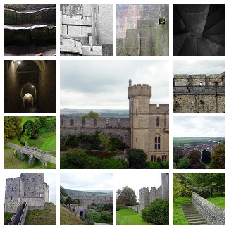 Arundel Castle Mosaic