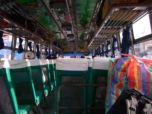 Bus to Khao Sok
