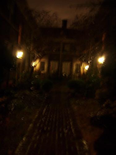 gothic courtyard — Jan. 4