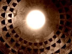 Pantheon Interior (mattrkeyworth) Tags: light italy rome ancient roman interior sony pantheon ceiling hadrian lowangle agrippa p12 dscp12 festivalitaly newlighte mattrkeyworth