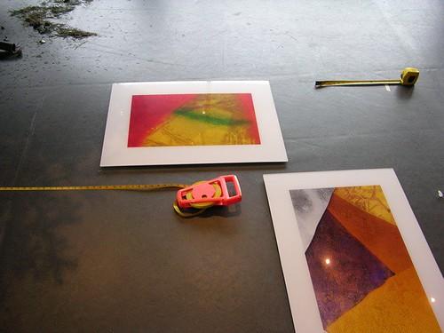 Sorting prints @ Shaw