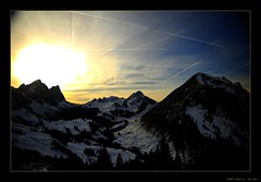 Big Bang! (Sam' place) Tags: sunset mountain landscape switzerland suisse fribourg explored interestingness261 i500 bellegard vanil chaletdurgiment impressedbeauty aplusphoto pralpe