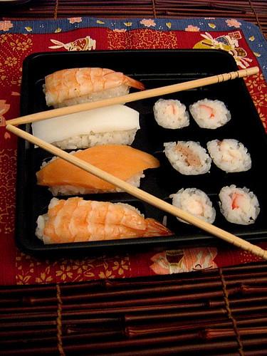 sushi e sashimi da mangiare con gli occhi!