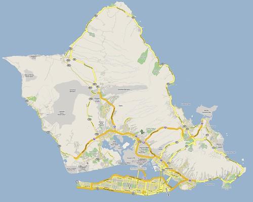 manhattan on vacation - Honolulu, Hawaii