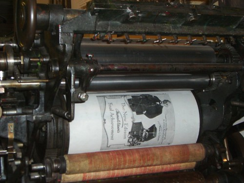 Printing press image by Gastev on flickr