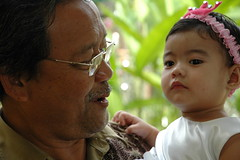 Aliya with Tok Abah