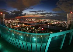 Osaka enclosed (The Other Martin Tenbones) Tags: japan night osaka kansai p1f1