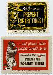 Smokey the Bear Stamps