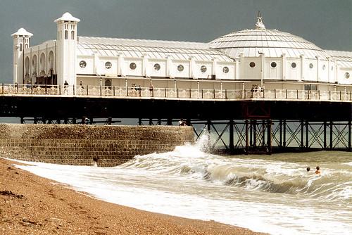 Brighton Pier Mad Swimmers