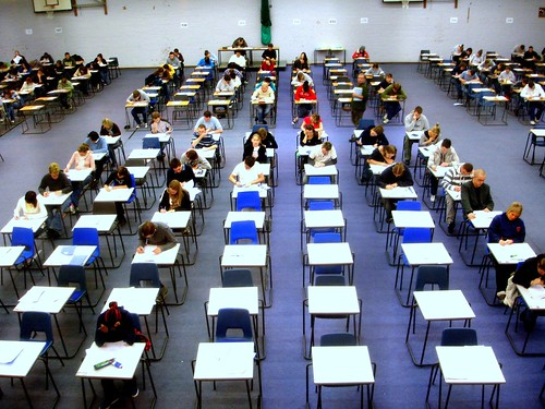 Day 23 - Exam hall by jackhynes, on Flickr